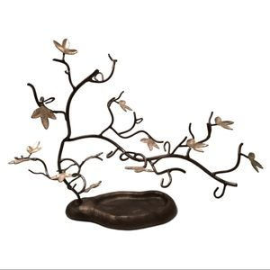 Metal tree Jewelry holder/display
